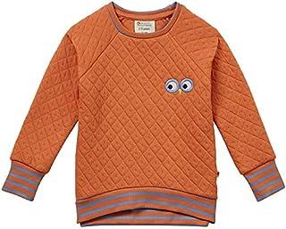 Piccalilly Sweat-Shirt matelassé en Coton Bio pour Femme Orange épicé