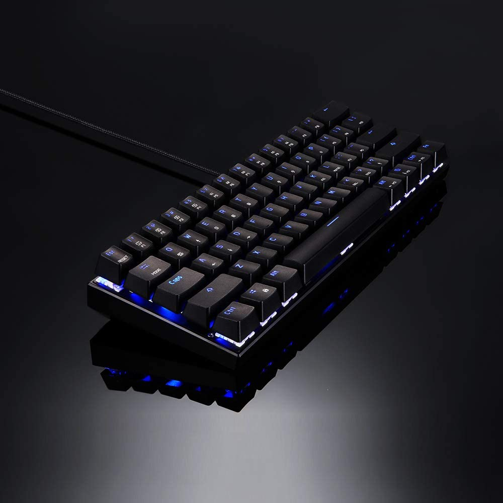 Motospeed CK62 61 teclas RGB Teclado mec/ánico USB BT Dual Mode Gaming Teclado