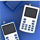 fregthf Handheld Pequeño Osciloscopio Portátil Osciloscopio Digital Osciloscopio Digital Handheld FNIRSI 1C15 Tasa de muestreo Ancho de Banda 500 ms / s Apoyo Forma de Onda Almacenamiento Azul