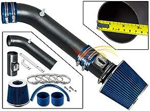 RW SERIES - MATTE BLACK PIPE BLUE - SHORT RAM INTAKE Compatible For 06-08 Infiniti M35 3.5L V6