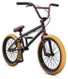 Mongoose Legion L100 Freestyle BMX Bike Line for Beginner-Level to Advanced Riders, Steel Frame, 20-Inch Wheels, Burgundy