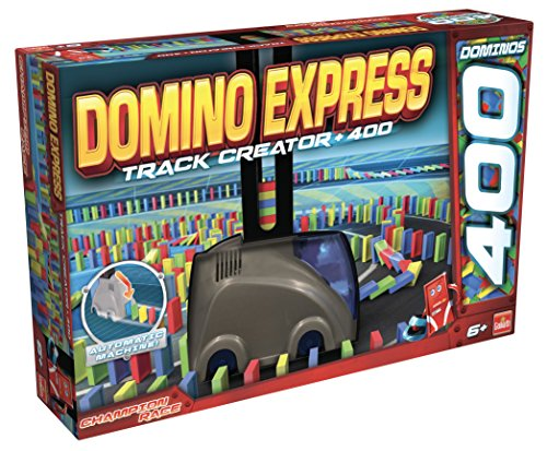 Goliath - Domino Express Track Creator+400 dominos - Jeu de construction - 81029.004