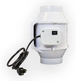 Viagrow 4 in. 105 CFM Ceiling or Wall Inline Exhaust Fan