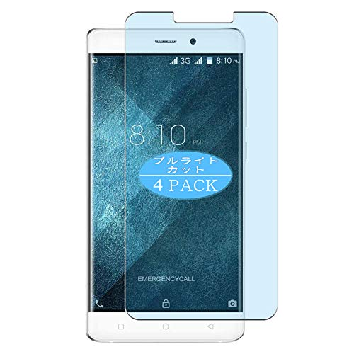 VacFun 4 Piezas Filtro Luz Azul Protector de Pantalla, compatible con Blackview...
