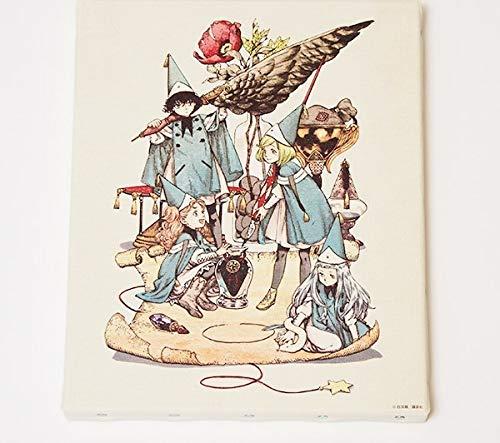 とんがり帽子のアトリエ 魔法の世界を閉じ込めたキャンバスアート A(ココ&アガット&テティア&リチェ)白浜鴎 グッズ
