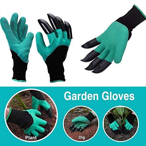 Unisex Gartenhandschuhe Fingerspitzen