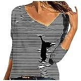 Blusa de manga larga para mujer, diseño de leopardo, cuello en V, informal, holgado, de gran tamaño, con capucha
