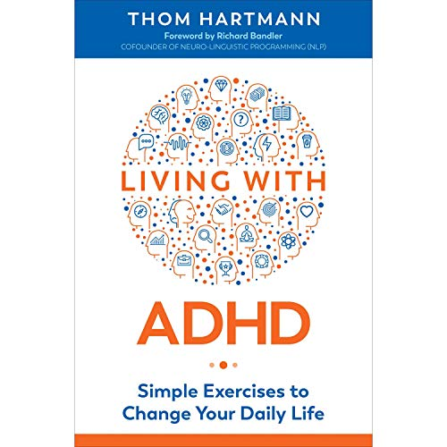 Living with ADHD audiobook cover art