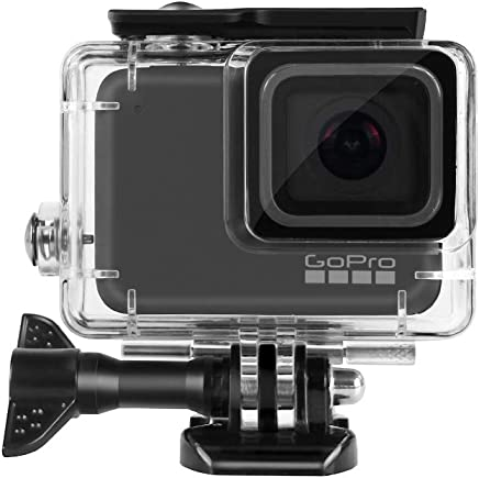 DECADE Waterproof Case Compatible with GoPro HERO7 Silver/White,45 Meters Dive Housing Shell with Bracket Accessories