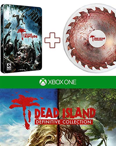 Dead Island [Definitive AT Steelbook uncut 2 Blu Ray Disc Collection] + Frisbee (XOne)
