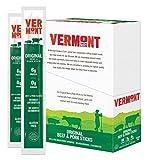 Vermont Smoke & Cure Meat Sticks - Beef & Pork Sticks - Gluten-Free - Great Keto Snack - High in Protein & Low Sugar - Original Flavor -1oz Jerky Stick - 24 count