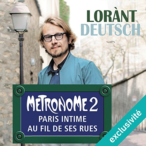 Métronome. Paris intime au fil de ses rues cover art