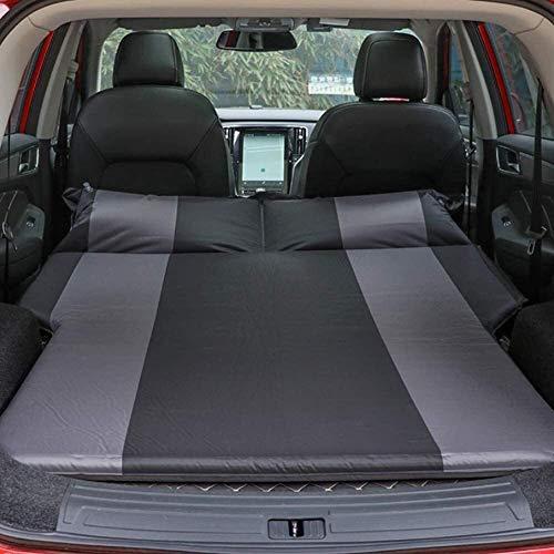 Colchón inflable de coches, ultraligero camping colchón con almohada, portátil y plegable que infla el rollo compacto Mat aire ligero impermeable for el asiento trasero, camiones, SUV, monovolumen, Vi
