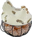 Kitchen Craft-Hueveras cesta Cesta de almacenamiento de huevos | Malla de...