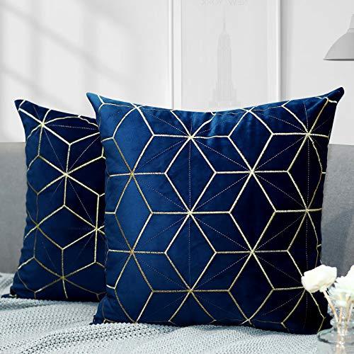 Cojines Sofa Elegantes Azul cojines sofa  Marca Lewondr