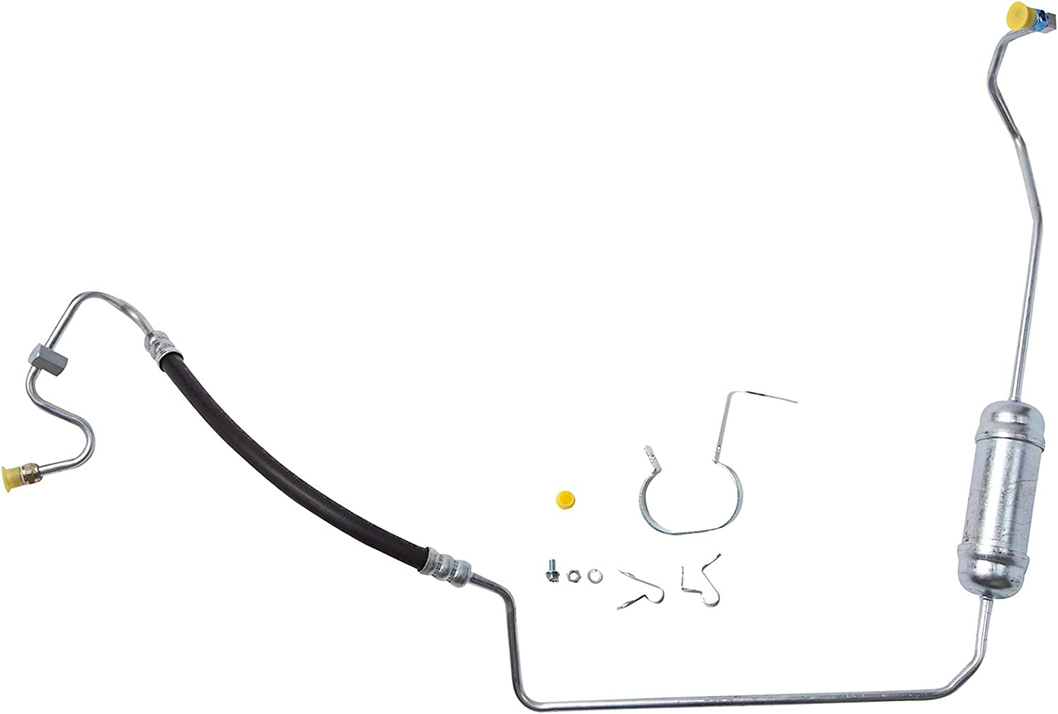 Gates 365890 Power Steering Line Assembly Fresno Mall Hose Pressure Max 47% OFF