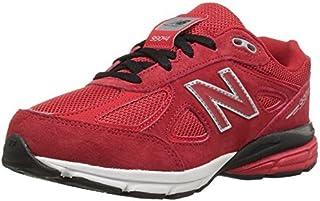 New Balance Boys' KJ990 Running Shoe Red/Red 5 Wide US Infant [並行輸入品]