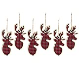 buffalo plaid christmas decor ornaments