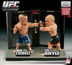 UFC Round 5 Versus Series 1 Limited Edition Action Figure 2Pack Chuck Liddell Vs. Tito Ortiz 47
