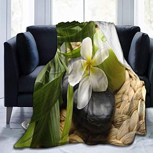 July Decke Massage Stein Drillinge Kräuterkerzen Blumenvlies Decke Decke Decke Waschbare Couch Sofa Decke