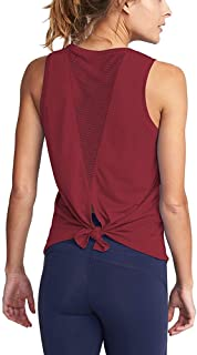 Yoga Camisoles T-Shirts Workout Tanks Shirts Sexy Mesh Tops Exercise Sports Activewear Cute Open Back