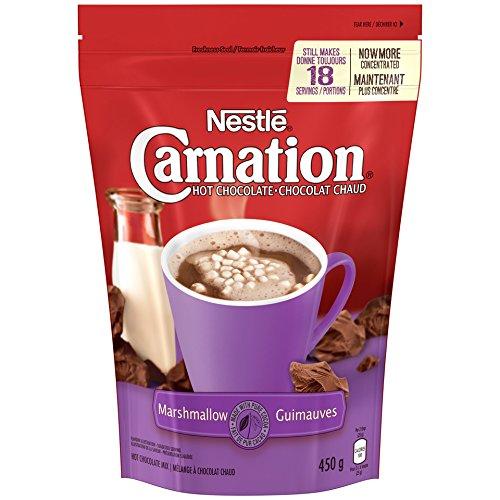 Nestle Carnation Hot Chocolate Marshmallow Hot Chocolate Mix, 450g, 15.87oz