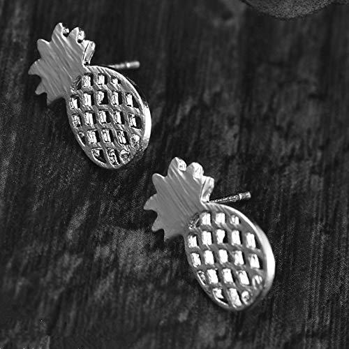 Burenqi Oorbel Elegante Leuke Ananas Stud Oorbellen Mode Decoratie Fruit Kleine Leuke Minimalistische Oorbellen Sieraden