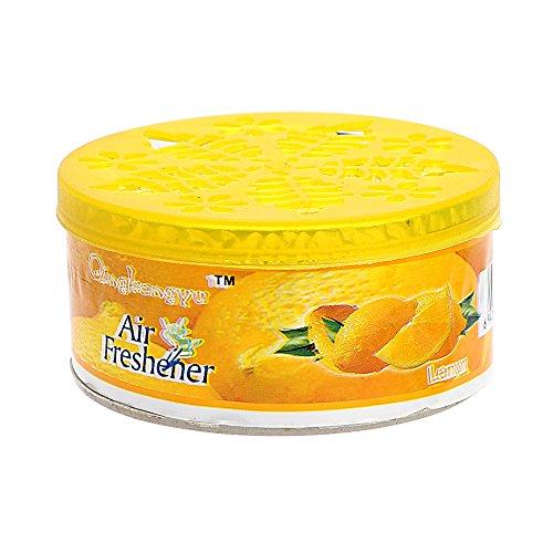 NOPNOG Ambientador de coche sólido limón sabor fragancia ambientador para coche sala de estar baño oficina