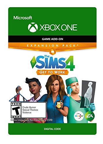 The Sims 4 - Get To Work - Xbox One [Digital Code]