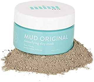 Mint Skin MUD Original Australian Healing Clay Mask   Purify, Refine & Balance  Face Mask   Detox Mask   Acne, Pimples, Eczema, Scarring, Refines & Tightens Pores Removes Blackheads