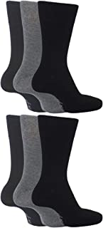Socksnob, Calcetines para hombre SockShop BIGFOOT de agarre suave, sueltos, tamaño 12-14, 46-50 eur