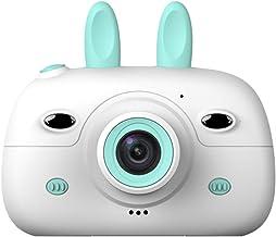 FRCOLOR 1080P Children Digital Camera Cartoon Bunny Kids Green Camera Toddler Rechargeable Video Recorder Mini Kid Camera ...