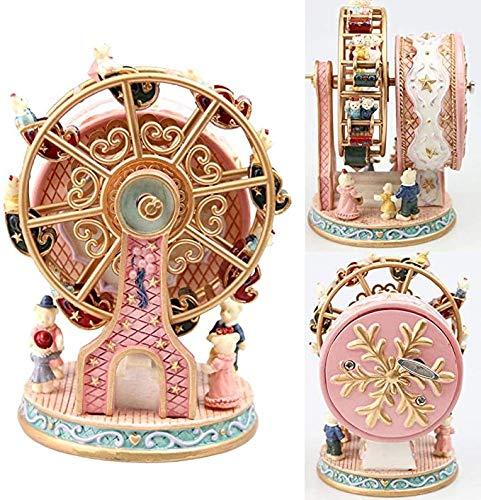 Gaojian Triebsholz Bär Carillon, Carillon Riesenrad, Dekoration Geburtstagsgeschenk
