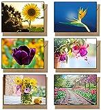 48 Eco Friendly Blank Flower Gre...