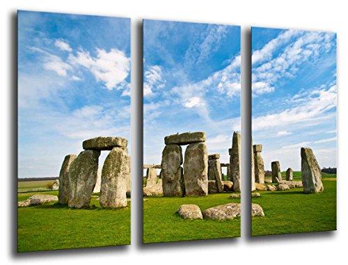 Cuadro Fotográfico Paisaje Stonehenge Dolmen Tamaño total: 97 x 62 cm XXL