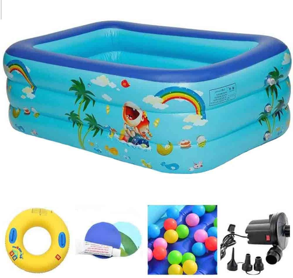 Family Paddling Pooll - Shipping included Regular discount Easy Swimming Padd Pool Set Rectangular