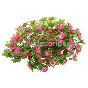 Artificial and Dried Flower Artificial Silk Daffodil Flower Vine Hanging Garland Home Party Decor 8 Colors – ( Color: Pink)