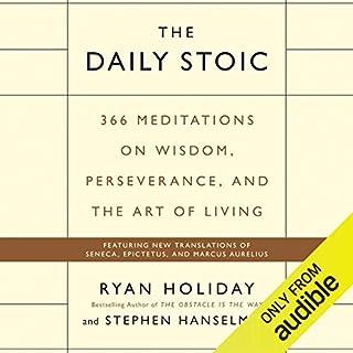 Page de couverture de The Daily Stoic