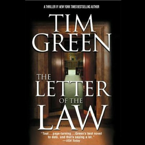 The Letter of the Law audiobook cover art