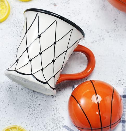 N\C Taza de té con diseño de dibujos animados de cerámica para café y desayuno, taza de agua [estilo al azar]