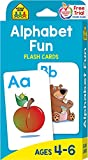 School Zone - Alphabet Fun Flash Cards - Ages 4 to 6, Preschool to Kindergarten, ABCs, Uppercase and...