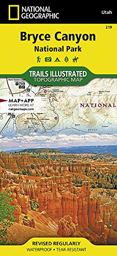 Bryce Canyon National Park (National Geographic Trails Illustrated Map (219))