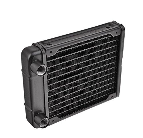 Thermaltake CL W008 AL00BL A Pacific R120 Wasserkuhlungs Radiator schwarz