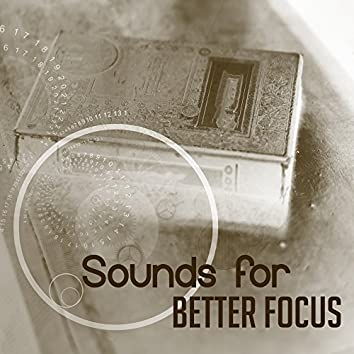 Sounds for Better Focus – Calming Waves, Concentration Music, Easy Listening