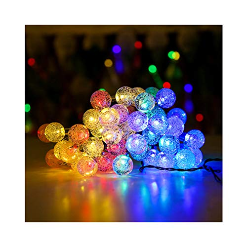 9M Outdoor Solar String Lights, 6.9M 50 LED Solar Light Waterproof with 8 Lighting Modes for Indoor and Outdoor Decoration, Garden, Christmas Tree, Party