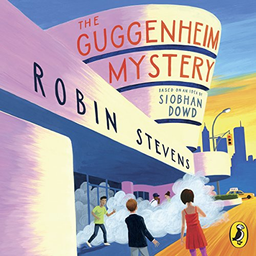 The Guggenheim Mystery audiobook cover art