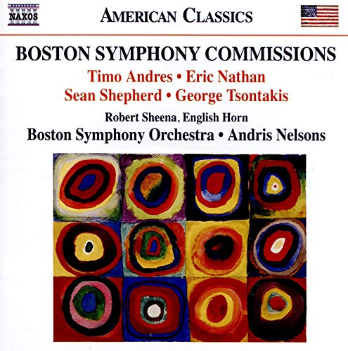 Boston Symphony Commissions. A. Nelsons. Boston So