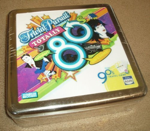 Trivial Pursuit Totally 80's Game - Plus 90's Travel Game