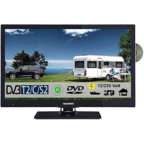 Telefunken T22X740 MOBIL LED TV 22 Zoll DVB/S/S2/T2/C, DVD, USB, 12V 230 Volt