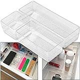 Hausfelder ORDNUNGSLIEBE Schubladen Organizer (3-teiliges Set) Ordnungssystem zur Aufbewahrung für...